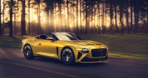 Bentley Mulliner Bacalar is a hyper-rare, exotic and sustainable convertible